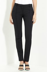 Women's Jason Wu Stretch Gabardine Crop Pants Black