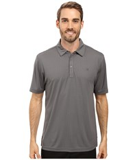 Travis Mathew Mcphail Polo Magnet Quiet Shade Men's Clothing Gray
