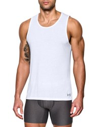 Under Armour 2 Pack Undershirt Tank White