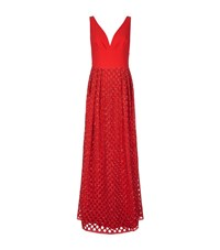 Escada Gcisa Sequin Gown Female Red