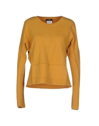 Max And Co. Sweaters Ocher