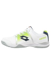 Lotto Ttour V 600 Multicourt Tennis Shoes White Light Green