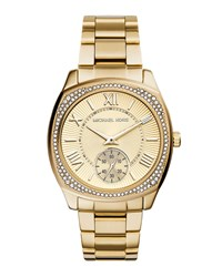 Bryn Golden Stainless Steel Glitz Watch Michael Kors