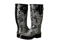 The Sak Rhythm Black White Spirit Desert Women's Rain Boots