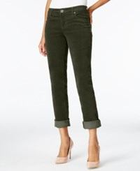 Kut From The Kloth Catherine Corduroy Pants Dark Olive