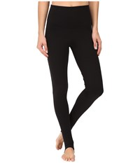 Yummie Tummie Compact Cotton Control Madden Stirrup Leggings Black Women's Casual Pants