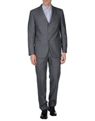 Michelangelo Suits And Jackets Suits Men Grey