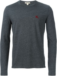 Burberry Brit Long Sleeve T Shirt Grey