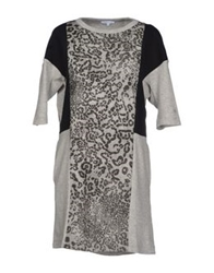 Surface To Air Short Dresses Grey