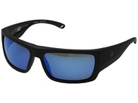 Spy Optic Rover Soft Matte Black Happy Gray Green Polar W Dark Blue Spectra Fashion Sunglasses