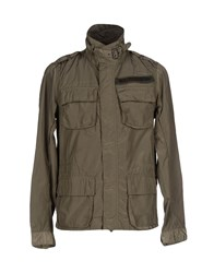 Sundek Coats And Jackets Jackets Men Military Green