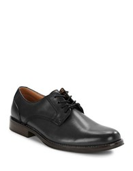 G.H. Bass Hughes Leather Oxfords Black