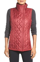 Zella Women's Brooklyn Quilted Vest Red Vine
