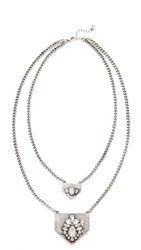 Jules Smith Designs Double Layer Jewel Necklace