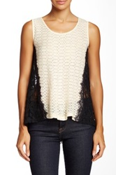 Ryu Lace Embroidered Sleeveless Blouse Multi