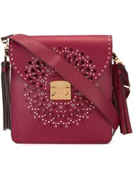 Furla 'Loop' Shoulder Bag Red