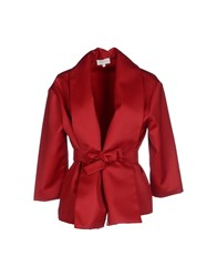 Isa Arfen Suits And Jackets Blazers Women Red