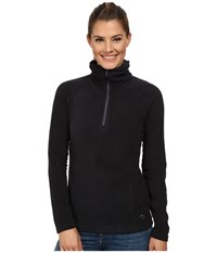 Mountain Hardwear Microchill Lite 1 2 Zip Top Black Women's Long Sleeve Pullover