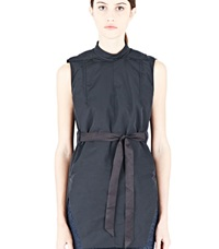 Rick Owens Sleeveless Padded Tunic Black