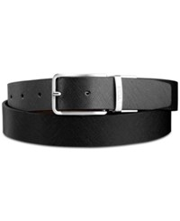 Tumi Men's Saffiano Leather Reversible Belt