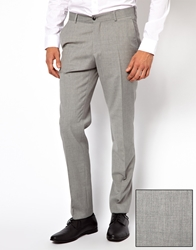 Esprit Slim Fit Suit Pants Grey