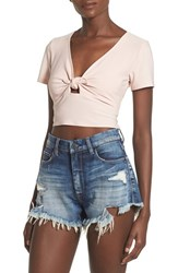 Women's Leith Tie Front Crop Top