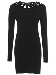 French Connection Emily Knits Jumper Dress Black