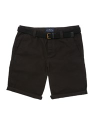 Criminal Men's Travis Cotton Chino Shorts Black