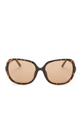 Kenneth Cole Reaction Women's Oversized Sunglasses Brown