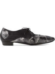 Marsell Marsell Flower Print Lace Up Shoes