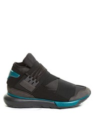 Y 3 Qasa High Top Trainers Black Multi