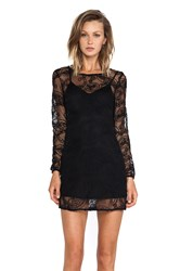 Ladakh Cornelli Lace Dress Black
