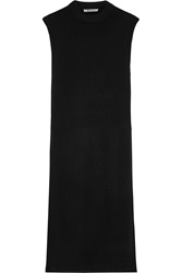 Alexander Wang Dickie Split Side Wool And Cashmere Blend Tunic