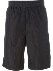 T By Alexander Wang Corded Shorts Black