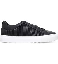 Kg By Kurt Geiger Bowden Leather Trainers Black