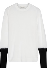 3.1 Phillip Lim Wool Cashmere And Silk Blend Sweater