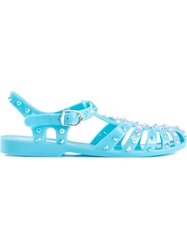 Markus Lupfer Embellished Jelly Sandals