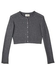 Precis Petite Jeff Banks Cropped Cardigan Grey