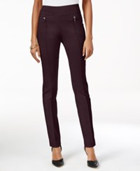 Styleandco. Style Co. Petite Skinny Pull On Pants Only At Macy's Dried Plum