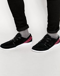 Boxfresh Keel Kat Trainers In Suede Black