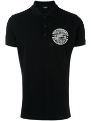 Diesel 'Snt Polow' Polo Shirt Black