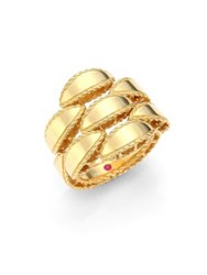 Roberto Coin Retro 18K Yellow Gold Ring