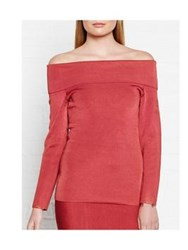 Reiss Lita Knitted Top Pink