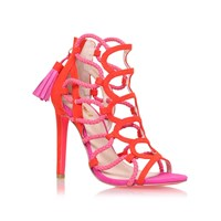Carvela Gabriel High Heel Sandals Red