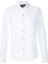 Anrealage 'Patchwork Race' Shirt White