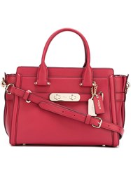 Coach Medium 'Lide' Tote Red