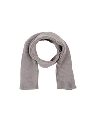 Emporio Armani Accessories Oblong Scarves Men Dove Grey