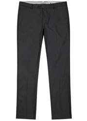 Nn.07 Oliver Charcoal Twill Chinos