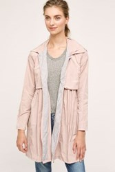 Anthropologie Midday Showers Raincoat Pink