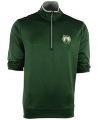 Antigua Men's Boston Celtics Leader Pullover Pine Green